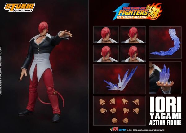 Storm Collectibles The King of Fighters '98 Iori Yagami 1/12 Scale Action Figure