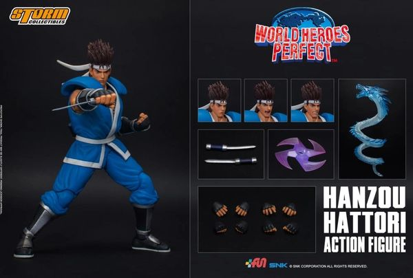 *PRE-SALE* Storm Collectibles World Heroes Perfect Hattori Hanzou 1/12 Scale Figure