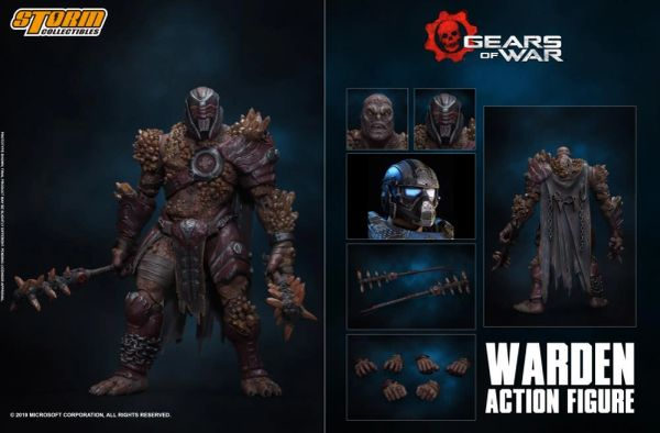 *PRE-SALE* Storm Collectibles Gears of War Warden 1/12 Scale Figure