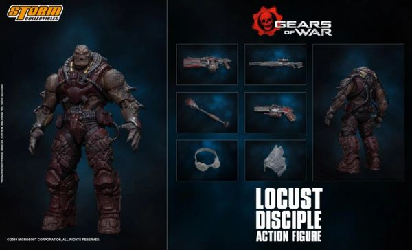 *PRE-SALE* Storm Collectibles Gears of War Locust Disciple 1/12 Scale Figure
