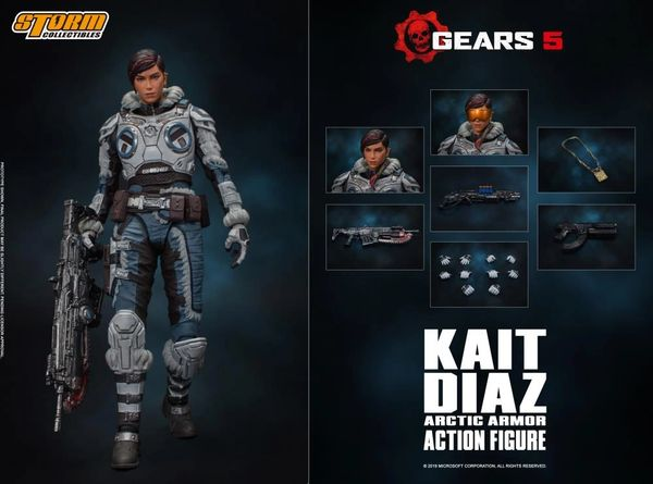 Storm Collectibles Gears 5 Kait Diaz 1/12 Scale Figure