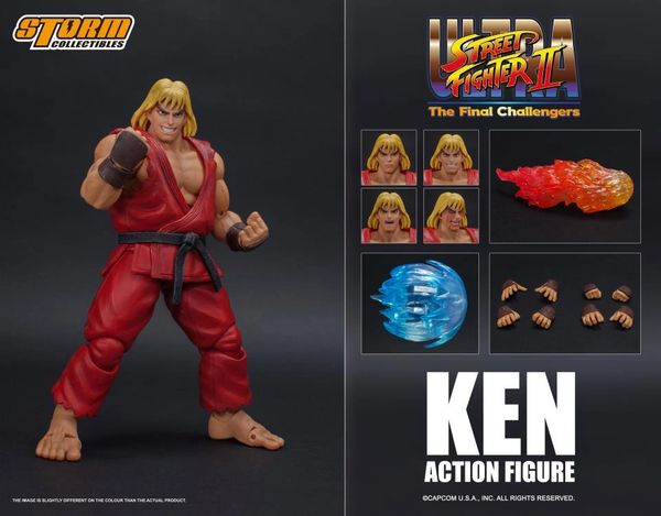 Storm Collectibles Street Fighter II Ken 1/12 Scale Action Figure