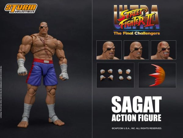 Storm Collectibles Street Fighter II Sagat 1/12 Scale Action Figure
