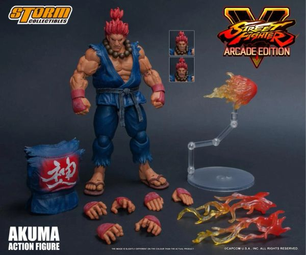 Storm Collectibles Street Fighter V Akuma (Nostalgic Costume) 1/12 Scale Action Figure