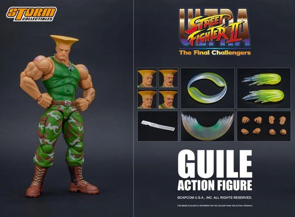 Storm Collectibles Street Fighter II Guile 1/12 Scale Action Figure