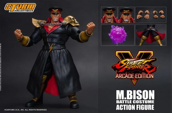 Storm Collectibles Street Fighter V M. Bison (Arcade Edition) 1/12 Scale Figure