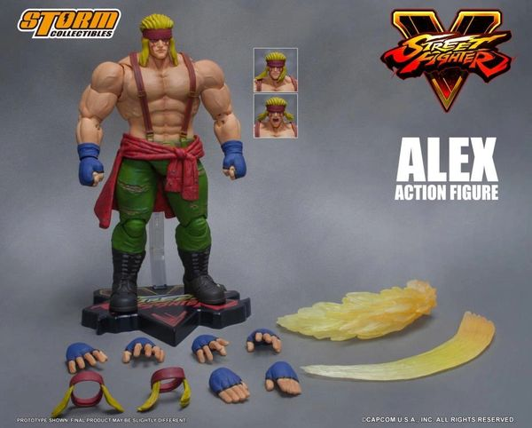Storm Collectibles Street Fighter V Alex 1/12 Scale Figure