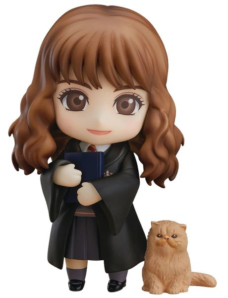 Nendoroid Harry Potter Series Hermione Granger Crookshanks Figure Set