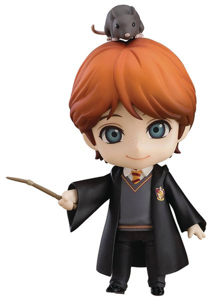 Nendoroid Harry Potter Series Ron Weasley and Scabbers Peter Pettigrew Figure Set