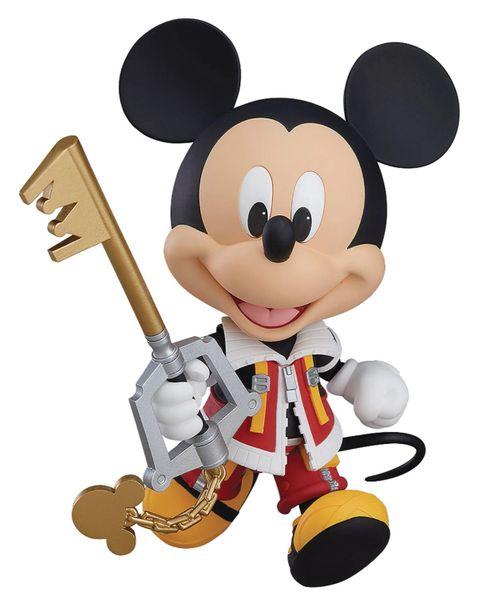 Nendoroid Kingdom Hearts King Mickey Mouse Action Figure Set