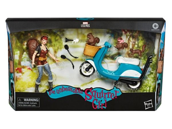 Marvel Legends Ultimate The Unbeatable Squirrel Girl Action Figure Set