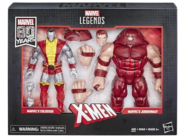 Marvel Legends Marvel Comics 80th Anniversary Colossus & Juggernaut Action Figure Two-Pack