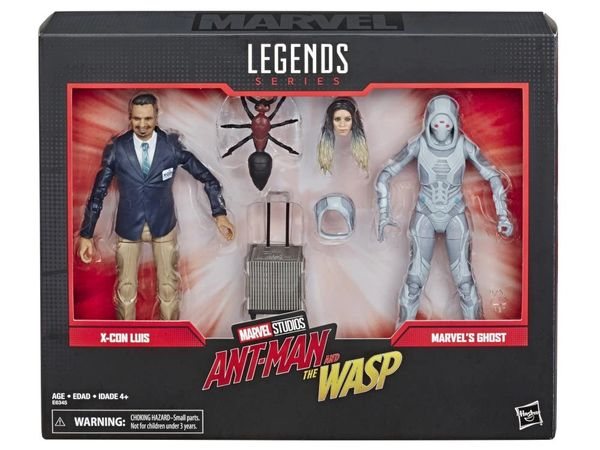 Marvel Legends Marvel Comics 80th Anniversary Ghost & Luis Action Figure Two-Pack