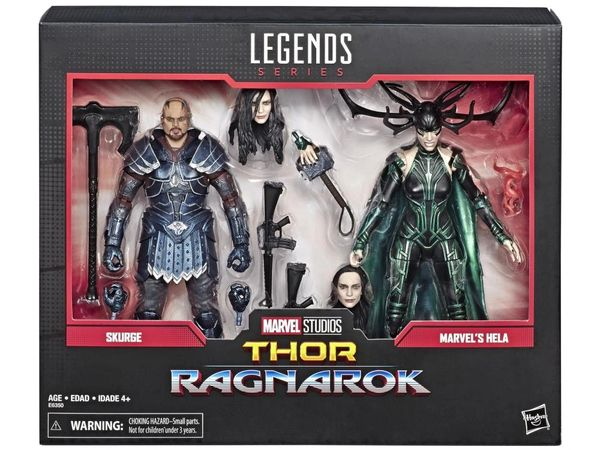 Marvel Legends Marvel Comics 80th Anniversary Thor: Ragnarok Skurge & Hela Action Figure Two-Pack