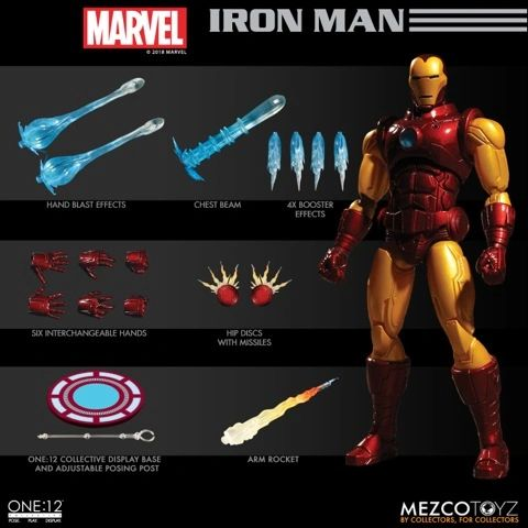 Marvel One:12 Collective Iron Man Action Figure