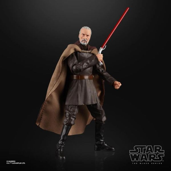 Star Wars: The Black Series Count Dooku Action Figure