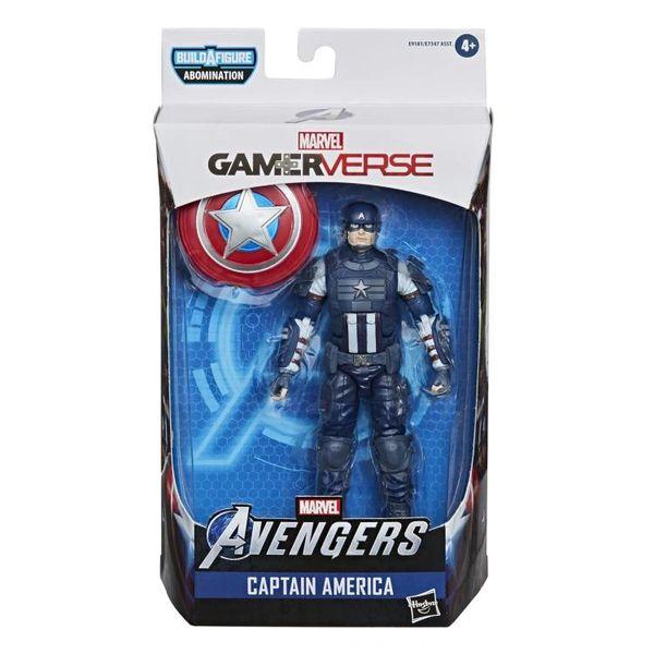Marvel Legends Avengers Gamerverse Captain America Action Figure