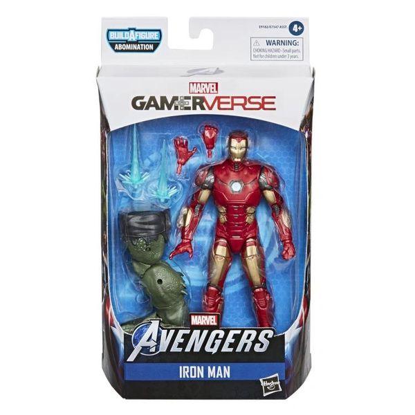 Marvel Legends Avengers Gamerverse Iron Man Action Figure