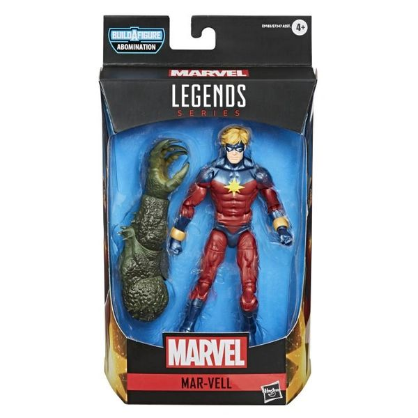 Marvel Legends Avengers Captain Marvel (Mar-Vell) Action Figure