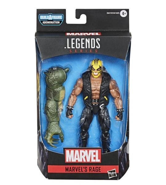 Marvel Legends Avengers Rage Action Figure