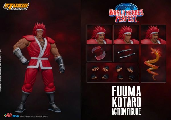 *PRE-SALE* Storm Collectibles World Heroes Perfect Fuuma Kotaro 1/12 Scale Action Figure