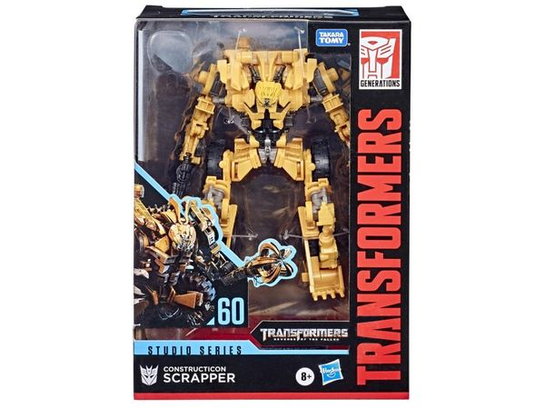 Transformers Studio Series No. 60 Voyager Class Scrapper Action Figure
