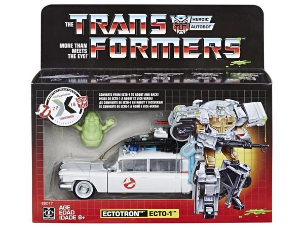 Transformers Generations Ghostbusters Ecto-1 Ectotron Action Figure
