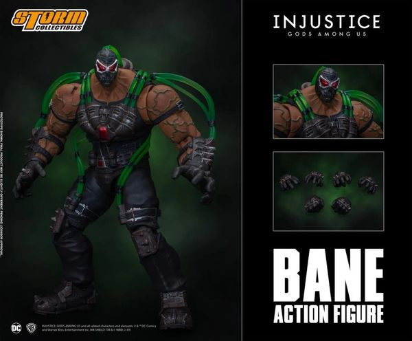 Storm Collectibles Injustice: Gods Among Us Bane 1/12 Scale Action Figure
