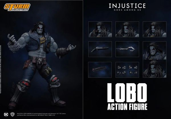 *PRE-SALE* Storm Collectibles Injustice: Gods Among Us Lobo 1/12 Scale Action Figure