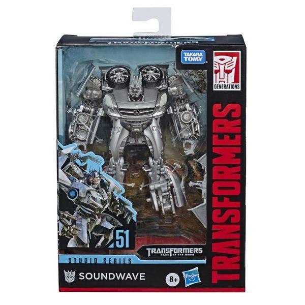 Transformers Studio Series No. 51 Deluxe Class Soundwave Action Figure