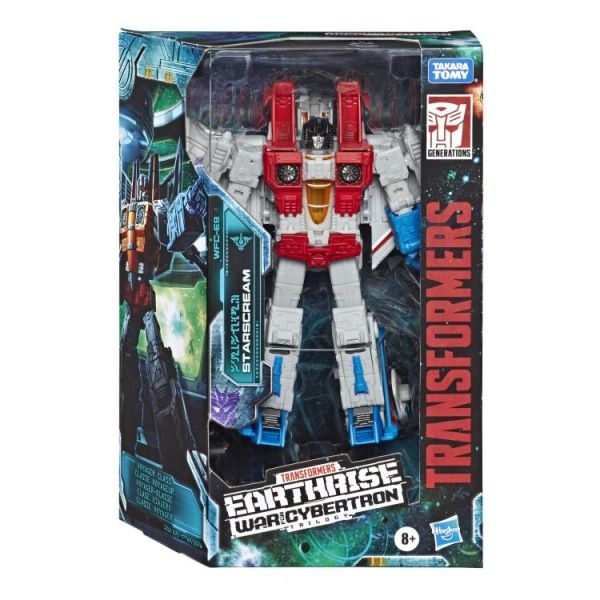 Transformers Earthrise War for Cybertron Starscream Action Figure