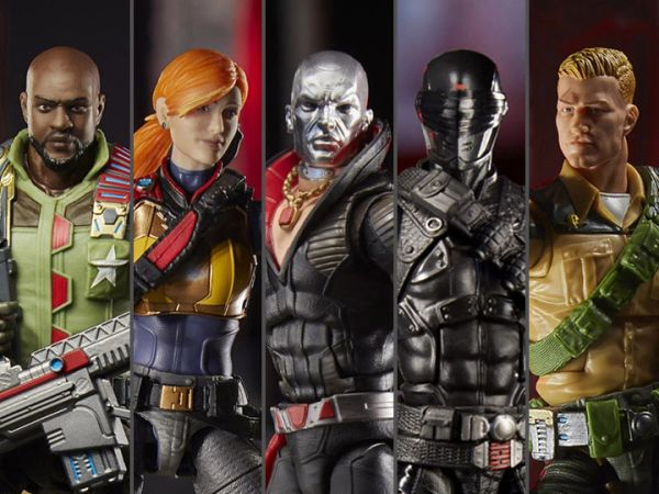 *PRE-SALE* G.I. Joe Classified Series Wave 1 Set of 5 Figures