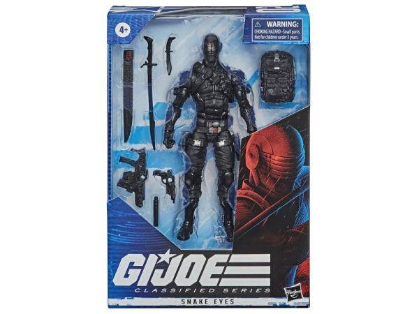 *PRE-SALE* G.I. Joe Classified Series Snake-Eyes Action Figure