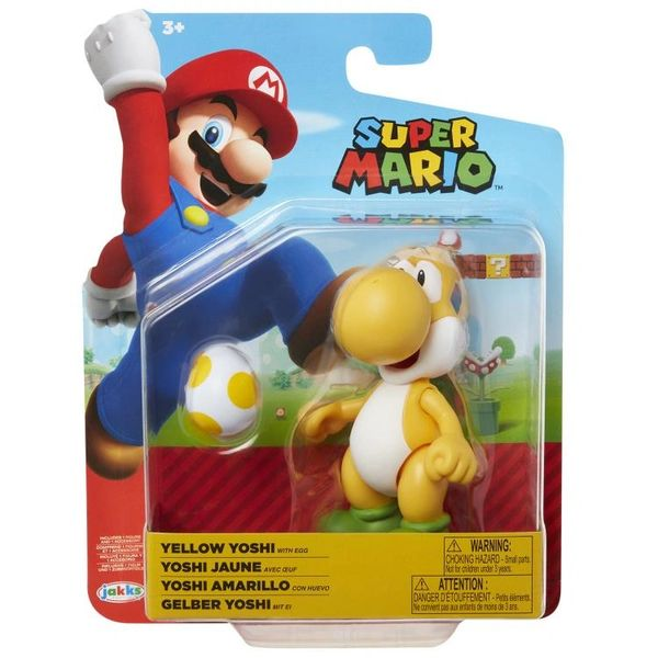 World of Nintendo Series 19 Yoshi (Yellow) Action Figure