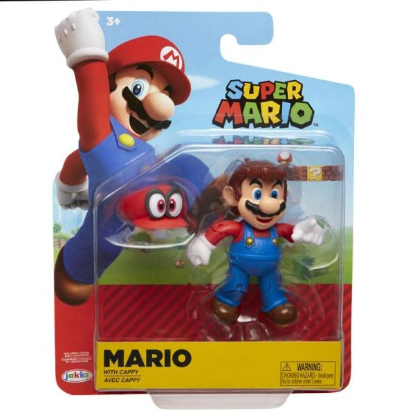 World of Nintendo Series 19 Odyssey Mario (with Cappy) Action Figure
