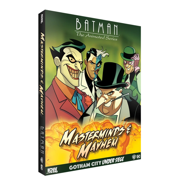 Batman: The Animated Series Masterminds & Mayhem Gotham City Under Siege Game Expansion