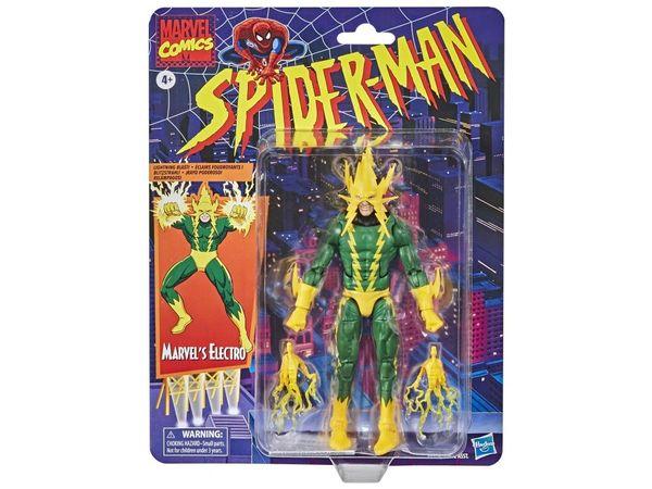 *PRE-SALE* Marvel Legends Spider-Man Retro Collection Electro Action Figure