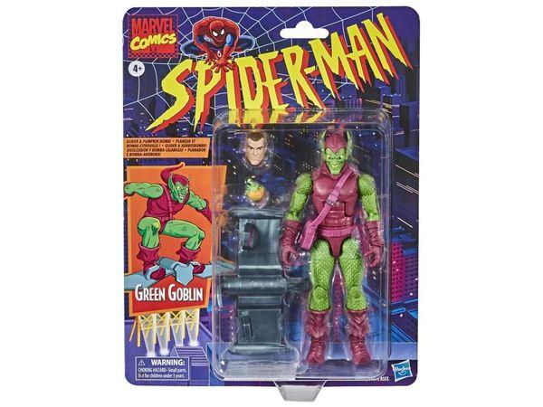 *PRE-SALE* Marvel Legends Spider-Man Retro Collection Green Goblin Action Figure