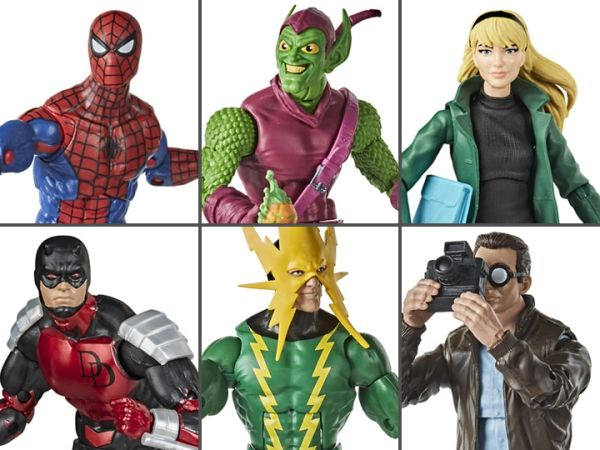 *PRE-SALE* Marvel Legends Spider-Man Retro Collection Action Figure Set