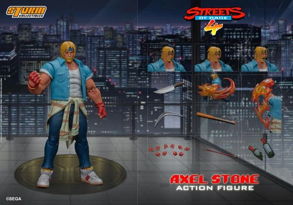 Storm Collectibles Streets of Rage Axel Stone 1/12 Scale Action Figure