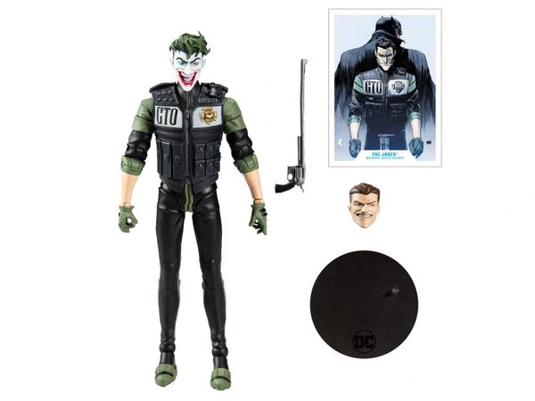 DC Multiverse: Batman The White Knight Joker Action Figure
