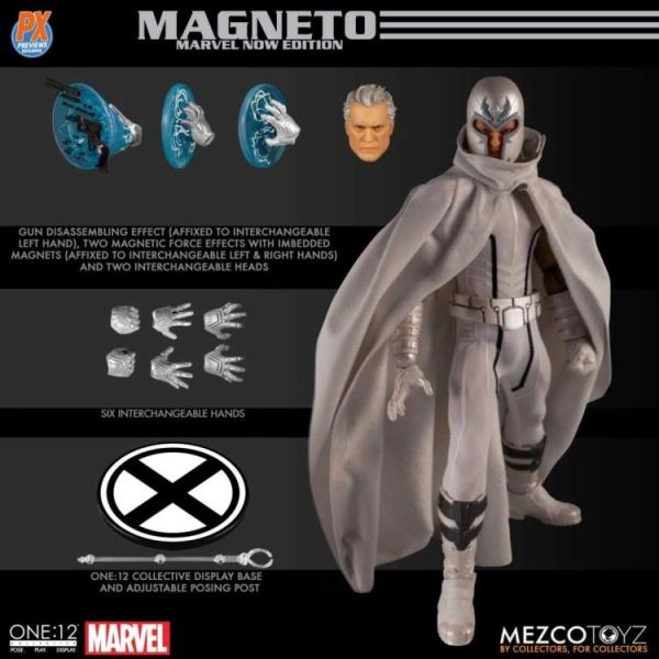*PRE-SALE* Marvel Mezco One:12 Collective Magneto (Marvel Now Edition) PX Previews Exclusive Action Figure