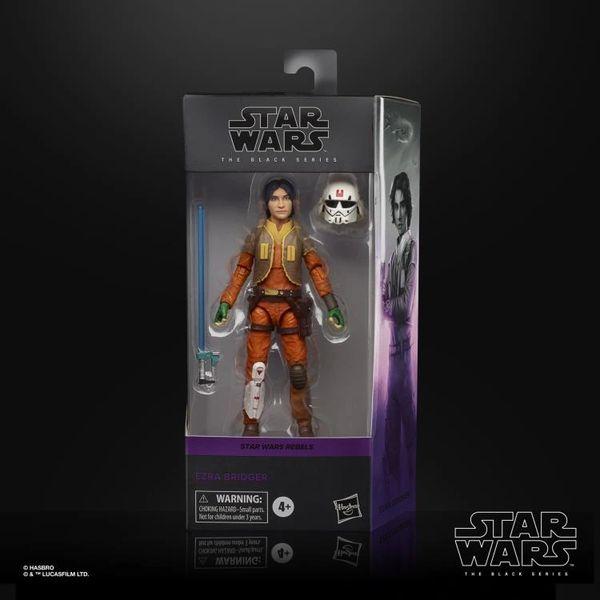 Star Wars Rebels: The Black Series Ezra Bridger Action Figure