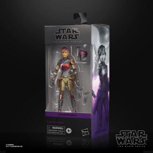 *PRE-SALE* Star Wars Rebels: The Black Series Sabine Wren Action Figure