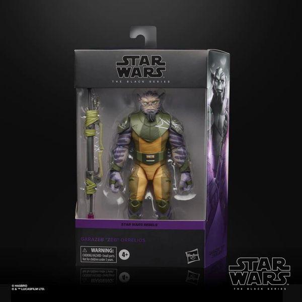 "*PRE-SALE* Star Wars Rebels: Black Series Deluxe Garazeb ""Zeb"" Orrelios Action Figure"