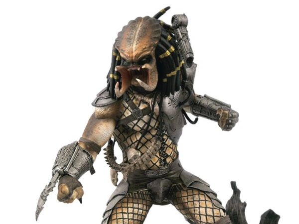 Diamond Gallery Predator (Unmasked) SDCC 2020 Limited Edition Exclusive Figure Diorama