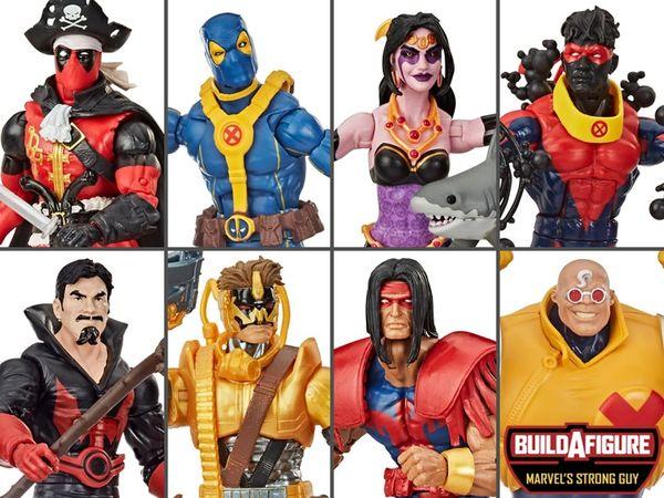 *PRE-SALE* Marvel Legends Deadpool Wave 3 Set of 7 Figures (Strong Guy BAF Series)
