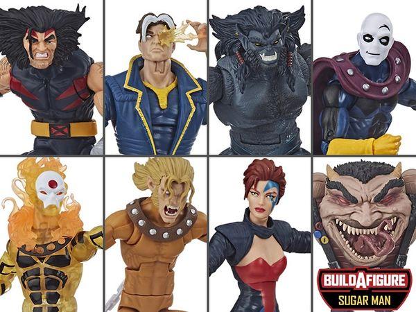 Marvel Legends X-Men Wave 5: Age of Apocalypse Set of 7 Figures (Sugar Man BAF Series)