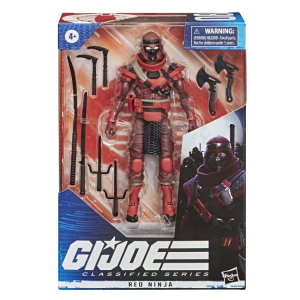 *PRE-SALE* G.I. Joe Classified Series Red Ninja Action Figure