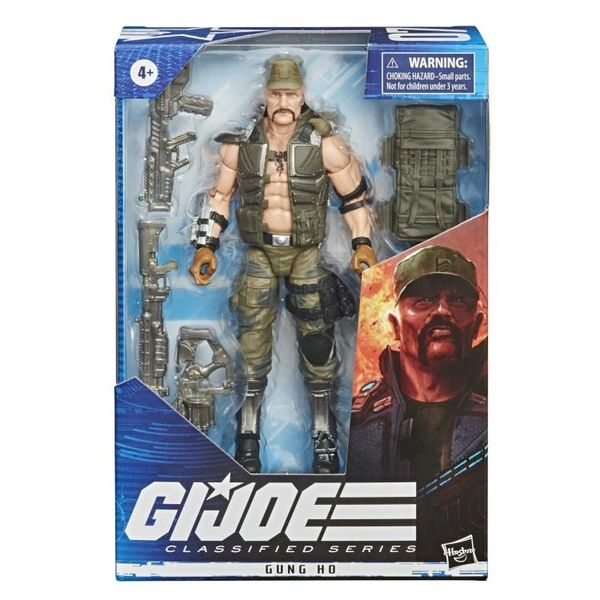 *PRE-SALE* G.I. Joe Classified Series Gung-Ho Action Figure